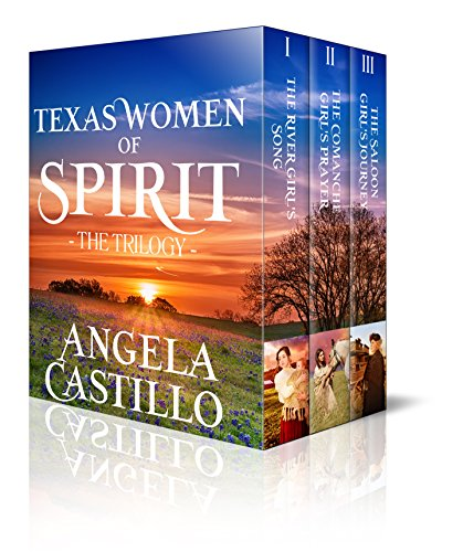 The Texas Women of Spirit Trilogy by [Angela Castillo]