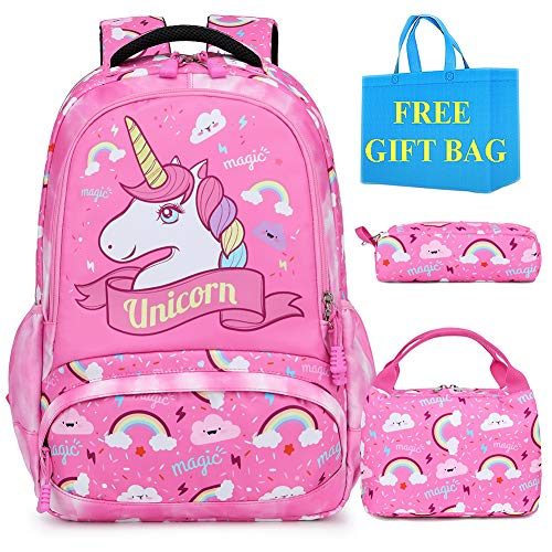 Mochila Escolar Unicornio