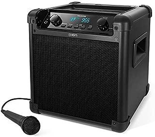 ION Audio Tailgater (iPA77) | Portable Bluetooth PA Speaker with Mic, AM/FM Radio, and USB Charge Portアイアンオーディオテールガーター(iPA77)|ポータブルBluetooth PAスピーカー、マイク、AM / FMラジオ、USB充電ポート付 [並行輸入品]