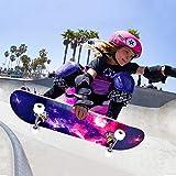Immagine 2 bellanny skateboard 80x20cm completo per