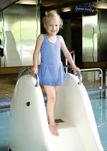 Suprima badpak voor meisjes 1-523-039 - maat 116, lichtblauw