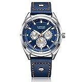 Montres Homme Chronographe Date Étanche Design élégant Bracelet Sport d'affaires de Mode 30M...