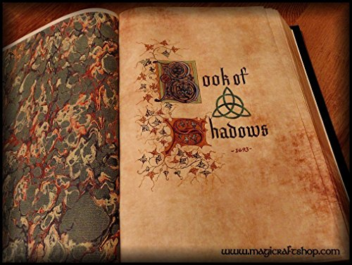 Charmed Book of Shadows with ORIGINAL PAGES in english - Big size 31x22 cm