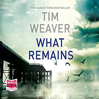 What Remains     David Raker, Book 6              By:                                                                                                                                 Tim Weaver                               Narrated by:                                                                                                                                 Ben Allen                      Length: 17 hrs and 16 mins     278 ratings     Overall 4.1
