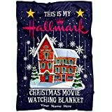 Best Love Quotes Personalized Christmas Movies Name Blanket, Watch Movies Christmas Blanket, mom Gifts for Christmas, Personalized Gifts, Custom Name Blanket from Your Name, mom Gifts for Christmas