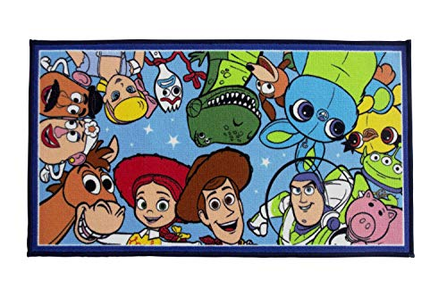Texco Direct - Alfombra Jumble Toy Story 4