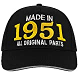 Bombo Made in 1951 All Original Parts^ 70 Years Birthday Party Hat Negro