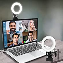 Video Conference Lighting, Light for Monitor Clip On,for Zoom Call Lighting, Remote Working, Distance Learning,Self Broadcasting and Live Streaming, Computer Laptop Video Conferencing