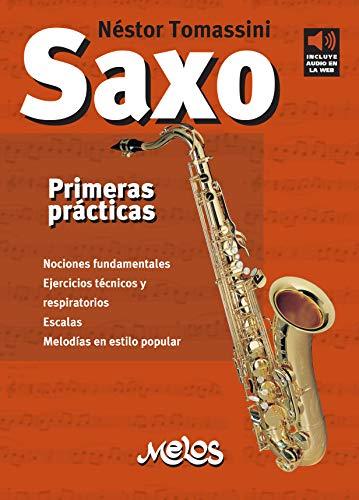 Saxo, primeras prácticas: Nociones fundamentales, ejercicios técnicos y respiratorios, Escala, Melodías en estilo popular