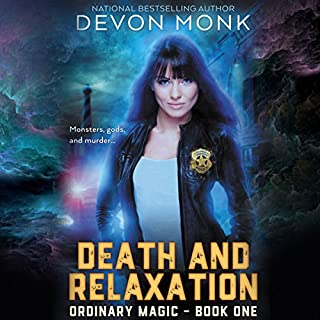 Death and Relaxation audiobook cover art