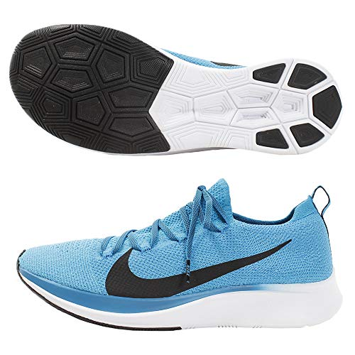 Nike Zoom Fly Flyknit Men's Running Shoe Blue Orbit/Black-White-Photo Blue 12.0