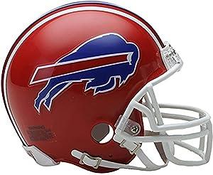Riddell Buffalo Bills Throwback 1987-2001 VSR4 Mini Football Helmet - NFL Mini Helmets