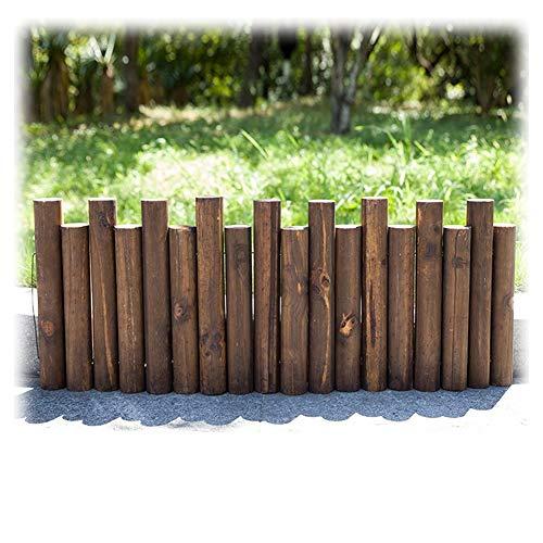 Pelouse Paysage Bordure a Planter D/écorative 120cm x 20cm JonesHouseDeco Bordure de Jardin Bois Cl/ôture Flexible pour Jardin