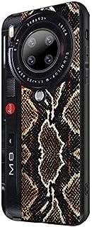 For Huawei Mate30 Pro Embossed Painted Snakeskin Texture Non-Slip anti-Sweat anti-Shock anti-Drop Fingerprint Camera Scree...