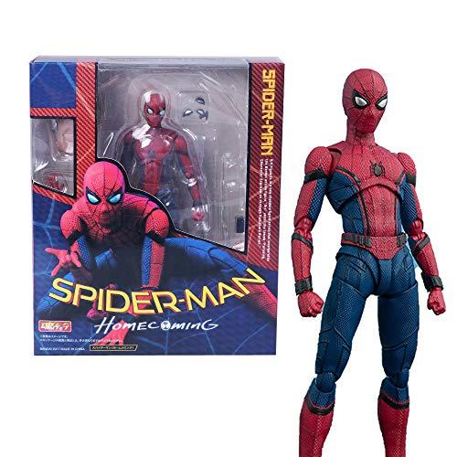 CHUNQING Marvel Avengers Spider-Man Modell Spider-Man Action-Figur Spielzeug Der Kinder Boxed Anime Puppe Modell-15cm
