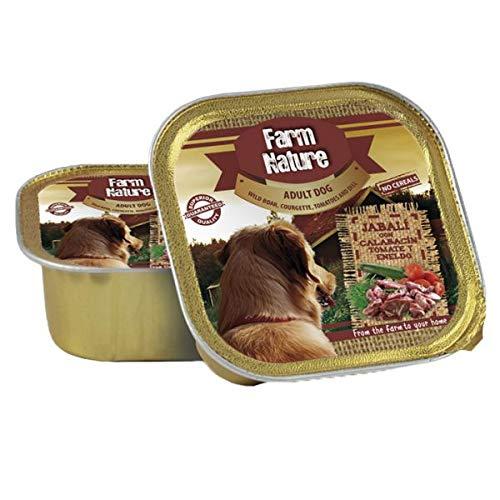 150 GR Farm nature wild boar/courgette/tomato/dill hondenvoer