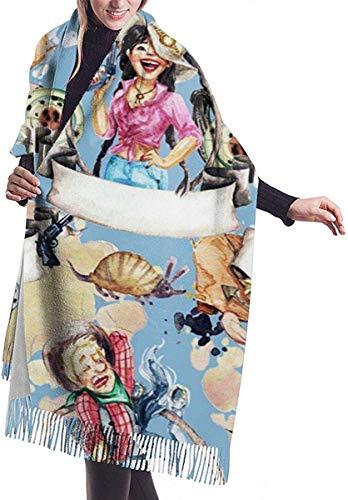 West Cowboy zachte kasjmier sjaal wrap sjaals lange sjaals voor vrouwen office partij reizen 68X196 cm