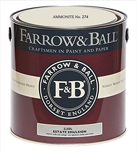 Farrow & Ball Estate Emulsion AMMONITE No. 274, 2,5 Liter