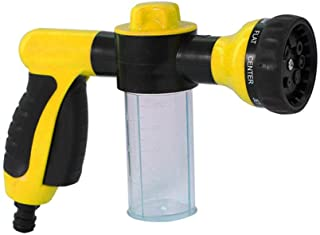 Foam Sprayer Garden Water Hose Foam Nozzle Soap Dispenser Gun for Car Washing Pets Shower Plants Watering