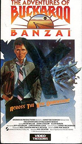 Adventures of Buckaroo Banzai Across the 8th Dimension, The [VHS]