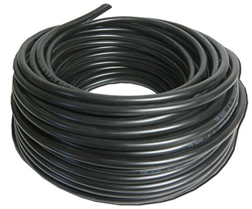 UNYY-J Underground Power Cable 3x 1.5 mm², 25 m, Black