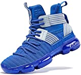 ASHION Boys Shoes Breathable Basketball Shoes for Boys Durable Girls Basketball...