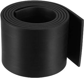Gummistreifen 5mm dick 40mm breit wählbar 1m-10m Länge Voll-Hartgummi Gummi