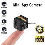 SECURIUS Mini caméra Espion Portable Nouny/Pet Cam de sécurité pour la Maison et Le Bureau (Noir)