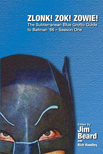 ZLONK ZOK ZOWIE The Subterranean Blue Grotto Guide to Batman 66 Season One The Subterranean product image