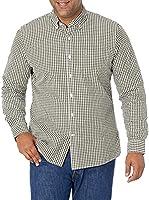 Marque Amazon - Goodthreads Slim-fit Long-Sleeve Solid Poplin Shirt Homme