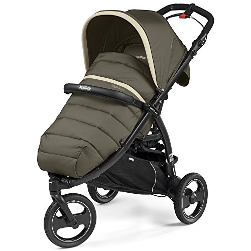 Peg Perego IP02300079CH84DX84 Passeggino Compatto, Breeze Kaki