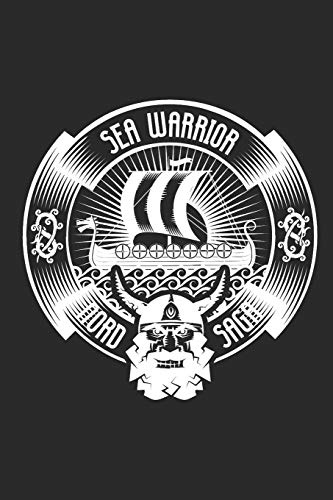 Sea Warrior Nord Saga: Blank Lined Notebook for Norse Mythology Lovers