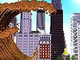 Clip: Soda Tsunami vs. City Challenge! Minecraft Tsunami Mod