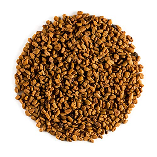 Fenogreco Orgánico Calidad Semillas - Calidad Culinaria - Alholva O Trigonella Foenum-Graecum - Fenugreco Semilla - Fenugreek Seed O Feno Greco 100g