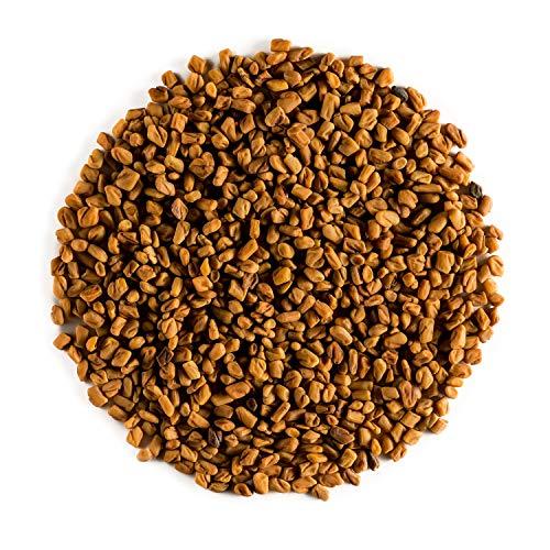 Bockshornklee Samen Bioqualität Bioanbau – Feinste Küchenqualität aus biologischem Anbau – Echte Trigonella foenum-graecum Bockshornkleesamen - bockshornkleesaat - Griechisches Heu 100g