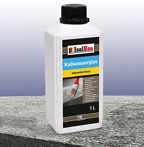 1 Liter Kaliwasserglas 28/30° Haftgrund Grundierung Wasserglas Versiegelung Mauerabdichtung Betonfrostschutz Untergrund