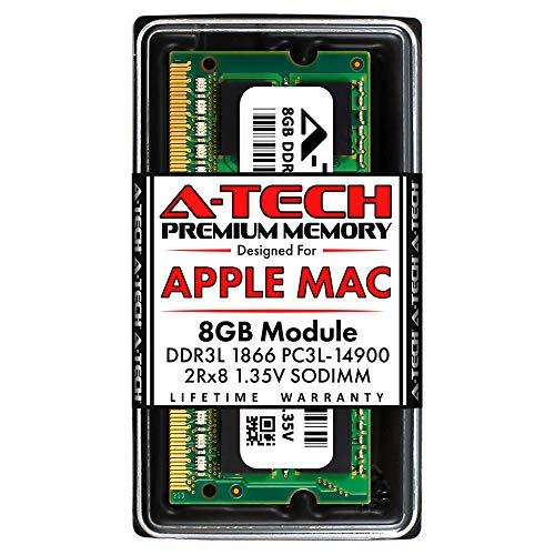 A-Tech 8GB RAM for Late 2015 iMac 27 inch Retina 5K | DDR3L 1866MHz / 1867MHz PC3L-14900 SO-DIMM 204-Pin CL13 1.35V Non-ECC Unbuffered Memory Upgrade Module