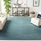Safavieh Vision Collection VSN606B Modern Ombre Tonal Chic Non-Shedding Stain Resistant Living Room Bedroom Area Rug, 9' x 12', Aqua
