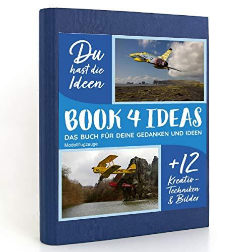 BOOK 4 IDEAS modern   Modellflugzeuge, Eintragbuch mit Bildern