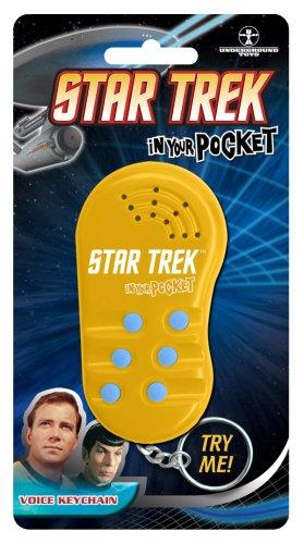 Funko IYP-028 Gear 4 Games Star Trek In Your Pocket Voice Key Chain
