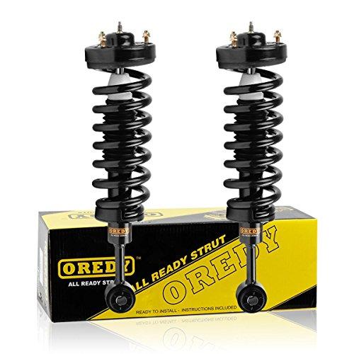 OREDY Front Pair Complete Struts Assembly Shock Struts Coil Spring Assembly Kit...