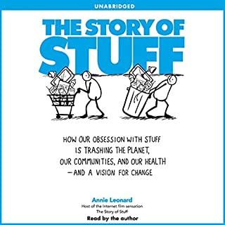 The Story of Stuff audiobook cover art