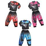 Wulf Sport 2020 Forte - Traje de moto para niño pequeño, color rosa