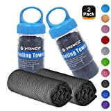 """Best Cooling Towels - YQXCC Cooling Towels 2 Pack (47""""x12"""") Travel Towel Review"""