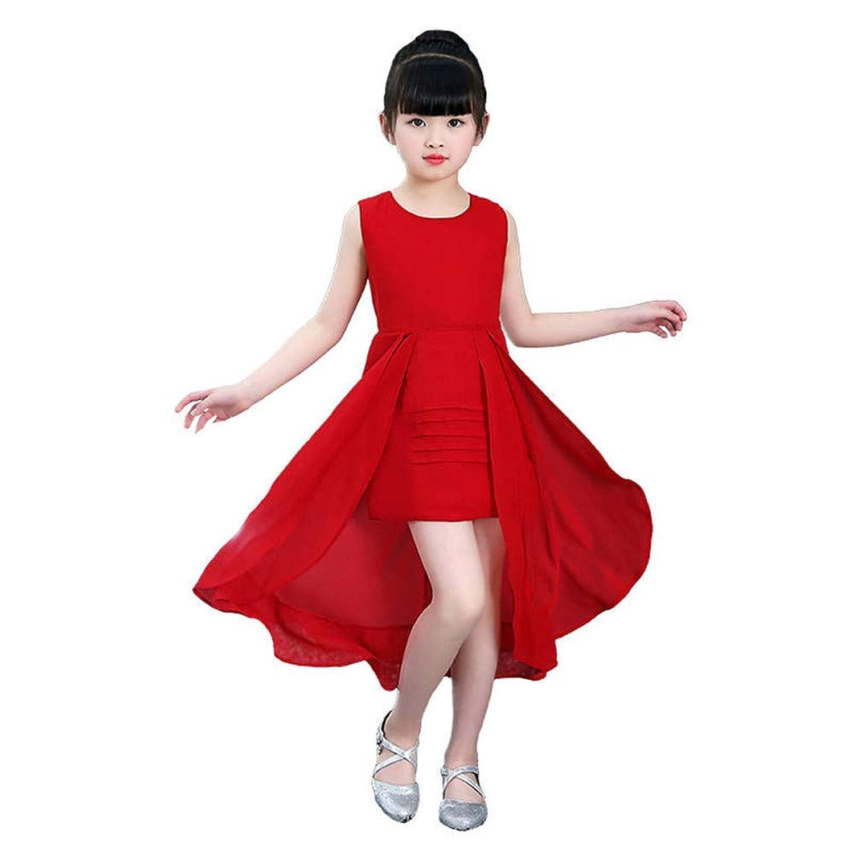 子供服女の子ドレスシフォンプリンセスドレスピアノデモンストレーションパーティーコンサートオープニングセレモニーホストウェディングドレスドレス