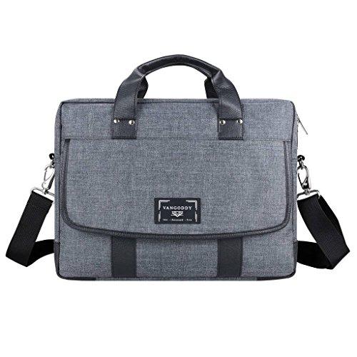 Protective Briefcase Laptop Shoulder Bag 15.6 inch for Dell Alienware M15, 15, Inspiron 15, Latitude 15, Precision 15, Vostro 15, XPS 15, G3 15, G5 15, G7 15