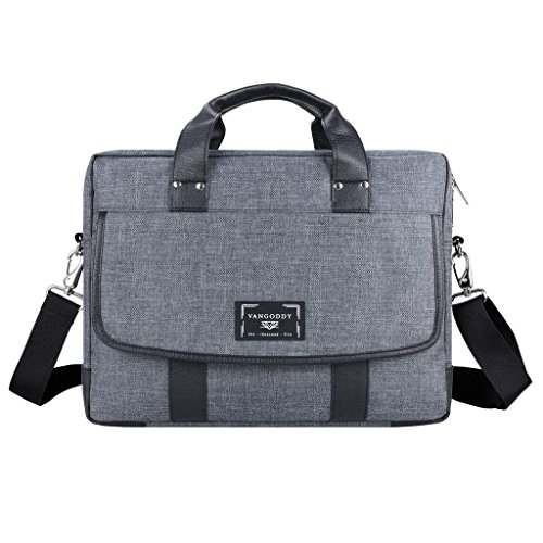 Protective Briefcase Laptop Shoulder Bag 14 15.6 inch for Apple MacBook Pro 15, Air, LG Gram 15.6 Inch, Huawei MateBook D, Asus Zenbook Flip UX461, Pro UX550VE, UX430UA, VivoBook E403NA, Acer Spin 5