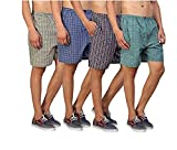 Cotton Men Boxers For Daily Use Material: Comfortable elastic waistband, Soft woven fabric with two side pocket. Shaped-to-fit, reinforced side vents at thighs for ease of movement Pre-Washed for Extra Softness Comfortable elastic waistband. Product ...