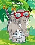 Elefantes libro para colorear 1 & 2