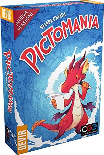 Devir Pictomania Edizione in Castigliano Color (da 3 a 6 Giocatori. Durata 20-40 Minuti BGPICTO